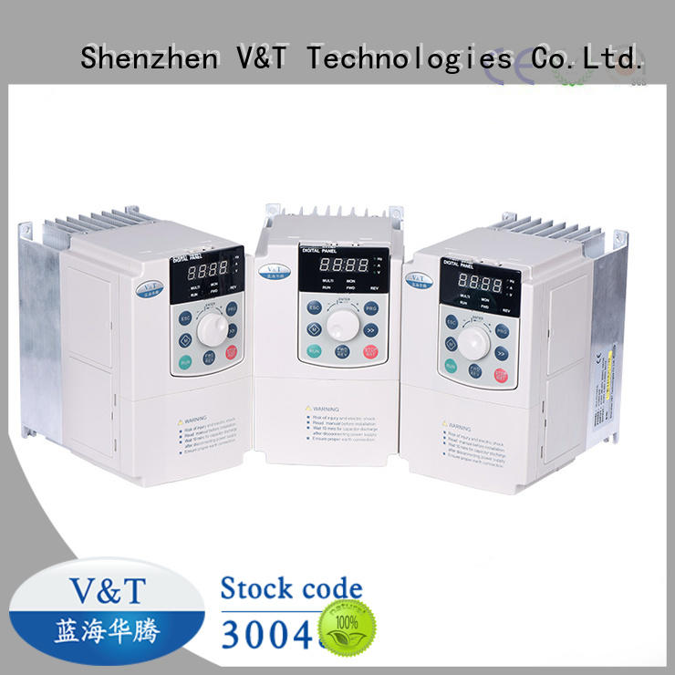 V&T Technologies customized E5 series high-performance universal Inverter factory-made in China for vector control