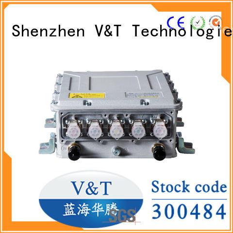 V&T Technologies aircooling motor 24v dc motor controller manufacturer for industry equipment