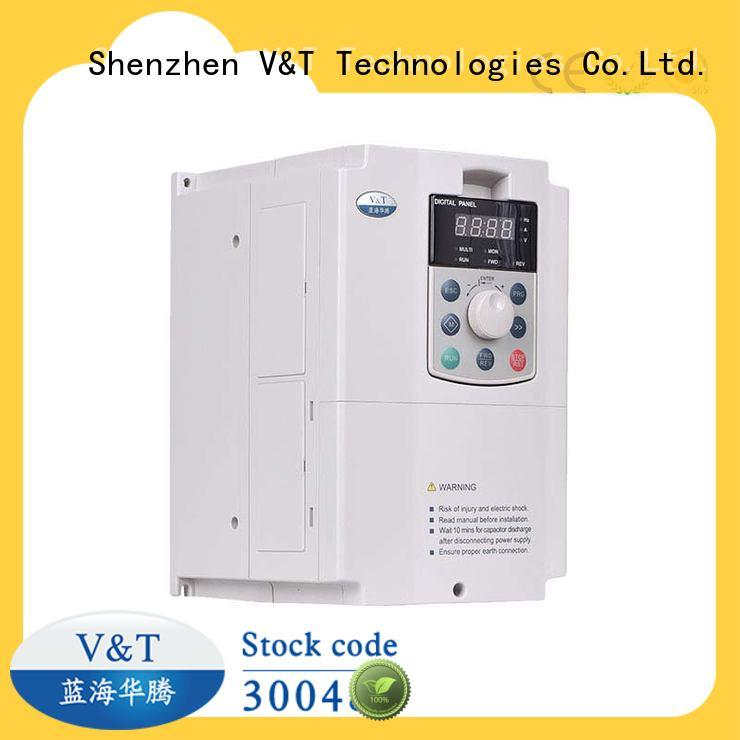 V&T Technologies customized E5 series high-performance universal Inverter supplier for industry