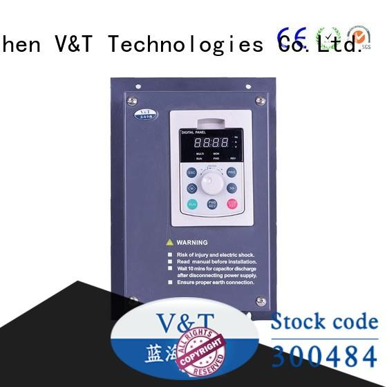 how does a variable frequency drive work for motor V&T Technologies