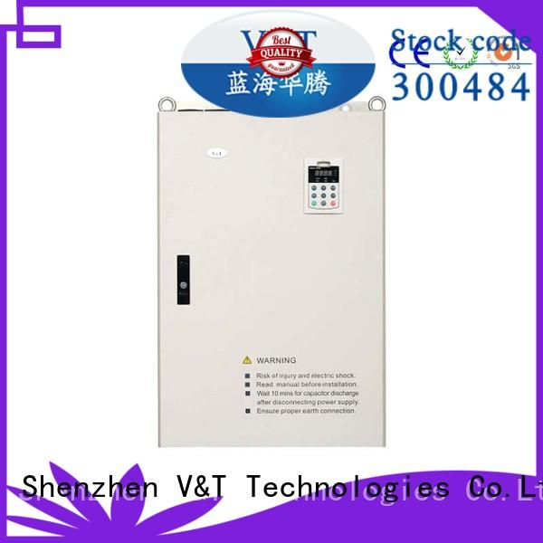 V&T Technologies high quality E5 series high-performance universal Inverter supplier for vector control