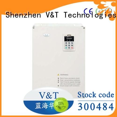 V&T Technologies 04kw 500kw types of ac drives sample provide for Speed control