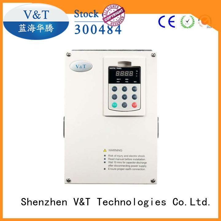 V&T Technologies cost-efficiency voltage frequency drive for hoist for crane