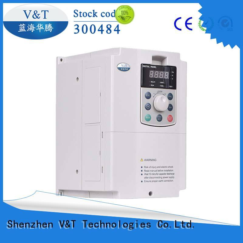 V&T Technologies high quality E5 series high-performance universal Inverter supplier for machinery