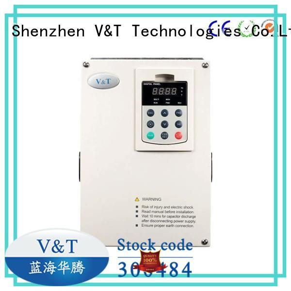 V&T Technologies cheap vfd for single phase motor with good price for hoist crane