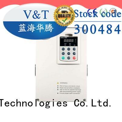 V&T Technologies Safe voltage frequency drive for hoist for crane