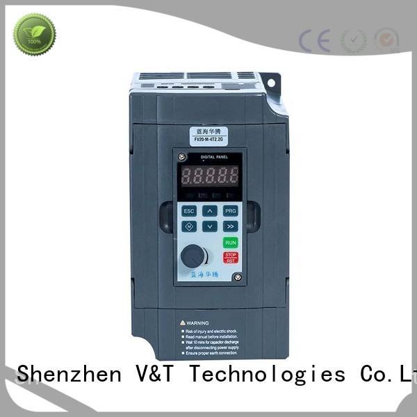 V&T Technologies FV20 series inverter supplier for industry