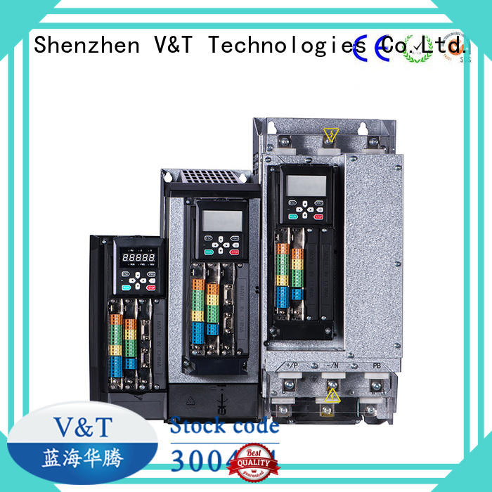 V&T Technologies China VTS general purpose inverter / servo drive factory for commercial uses