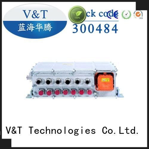 V&T Technologies sanitation motor controller for electric vehicle manufacturer for industry equipment