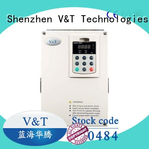 V&T Technologies Safe variable frequency drive for 3 phase motor with good price for machines