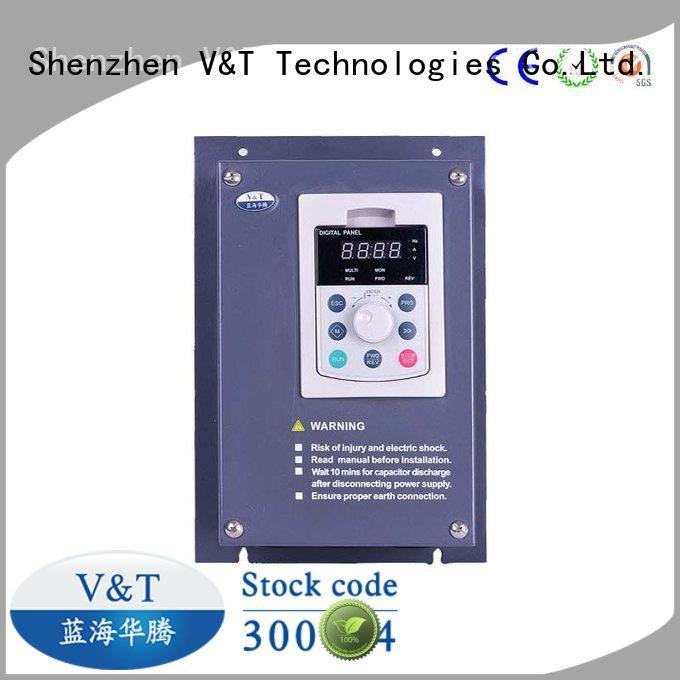 V&T Technologies compact design 5hp vfd control technology for versatile use