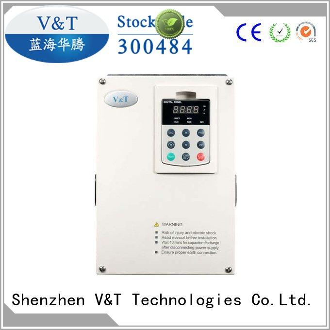 V&T Technologies reliability voltage frequency drive for hoist for hoist crane