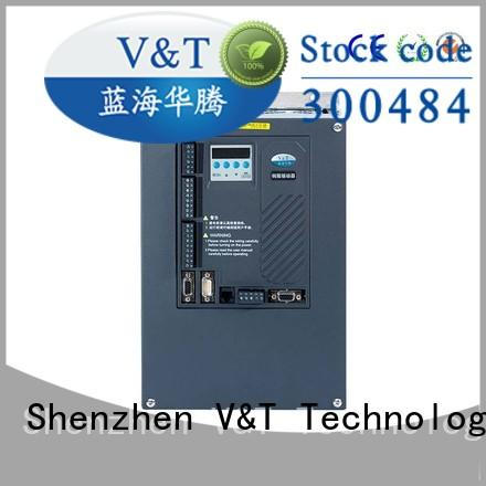 V&T Technologies brand new spindle servo drive manufacturer for industry