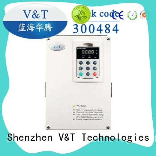 V&T Technologies reliability voltage frequency drive drive for crane