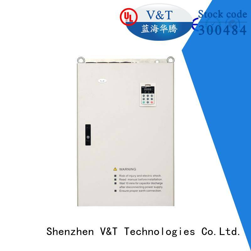 V&T Technologies 75kw3000kw 3 phase vfd supplier for machinery