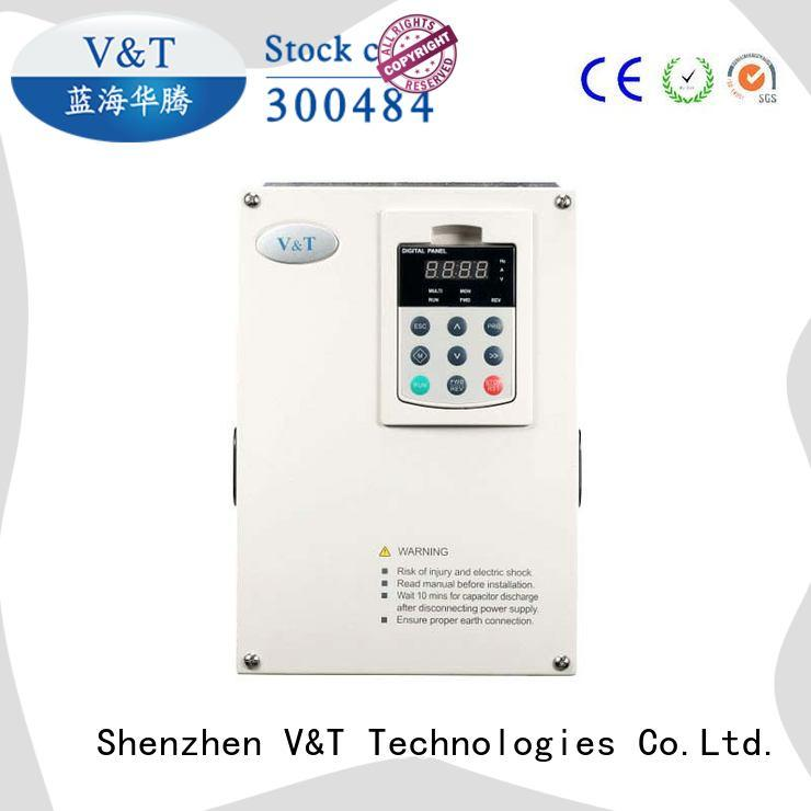 10 hp variable frequency drive voltage for machines V&T Technologies