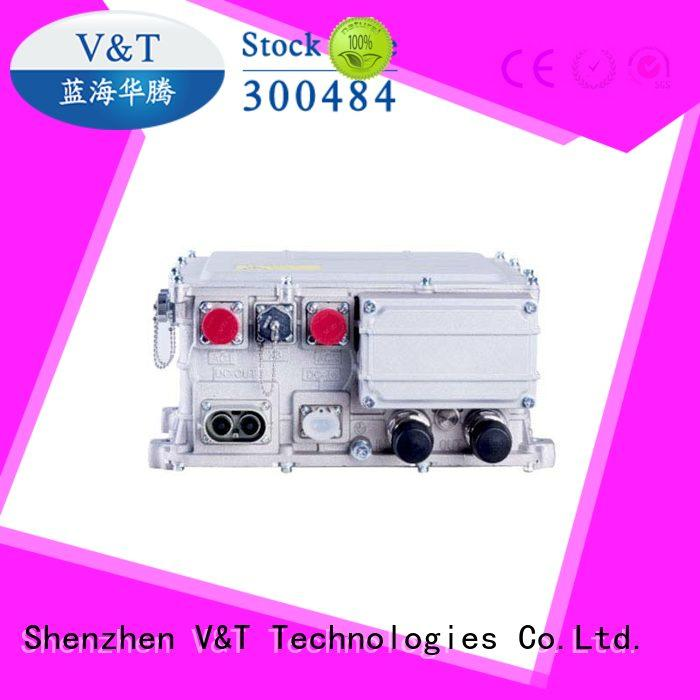 V&T Technologies aircooling motor electric car controller manufacturer for industry equipment