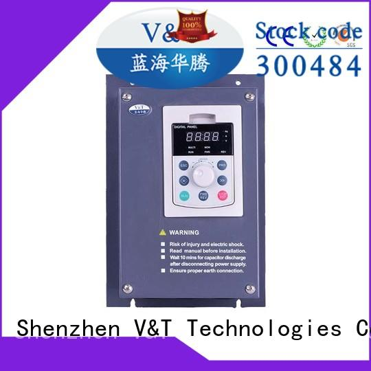 V&T Technologies spinning machine low frequency inverter supplier for machinery