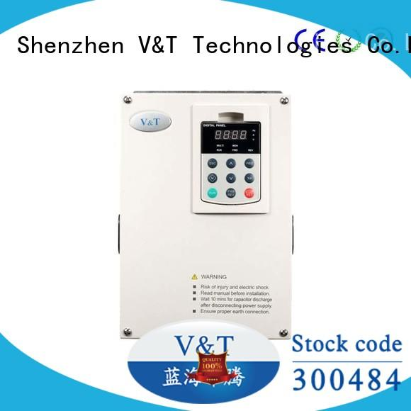 V&T Technologies original small variable frequency drive manufacturer for heavy−duty application