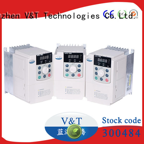 V&T Technologies big power universal variable frequency driver customized for machinery