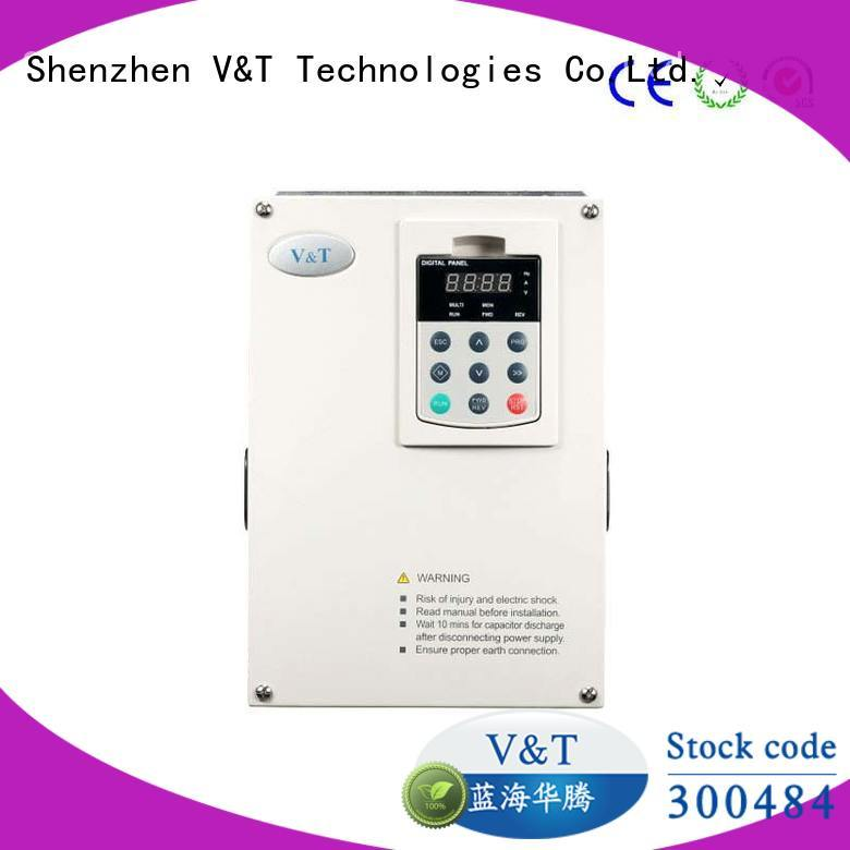 voltage frequency drive drive for machinery V&T Technologies