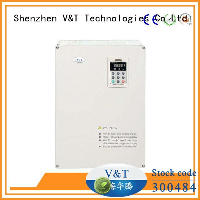 V&T Technologies controllability high frequency inverter customized for machine