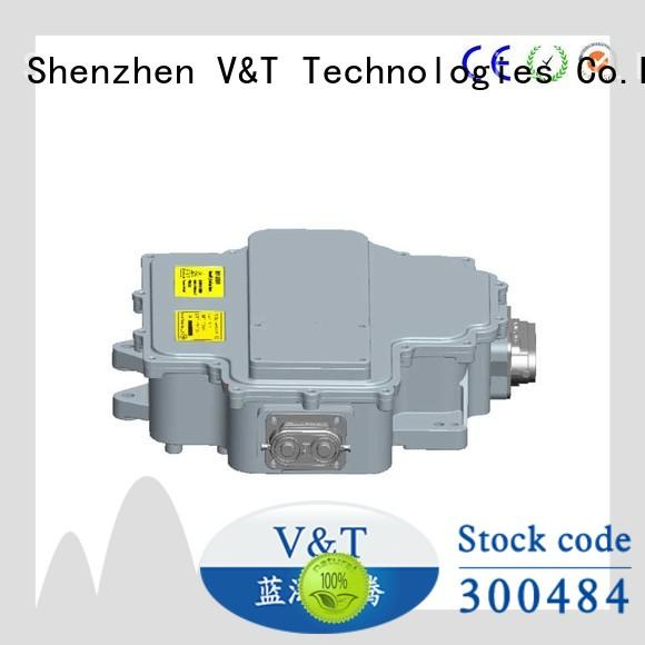 adaptable electric car motor controller for motor type for vehicle type V&T Technologies