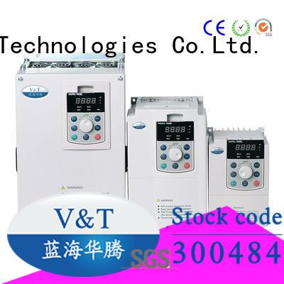 V&T Technologies brand new V5 series inverter factory for various occasions