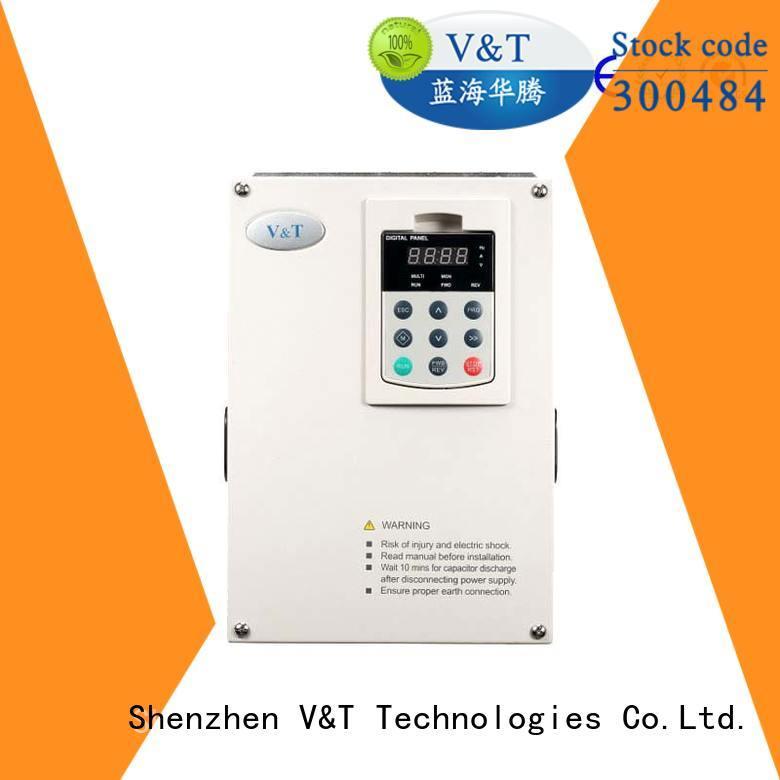V&T Technologies frequency vfd for 3 phase motor manufacturer for light−duty application