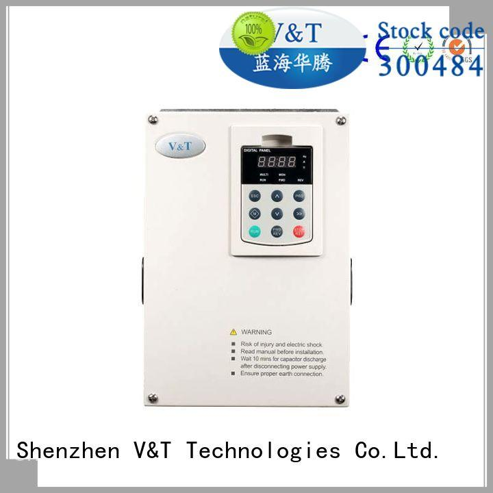 V&T Technologies frequency small variable frequency drive manufacturer for heavy−duty application