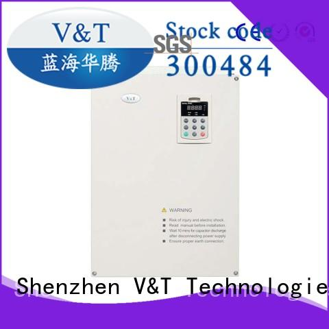 V&T Technologies 04kw 500kw what is a variable speed drive tension control inverter for tension control