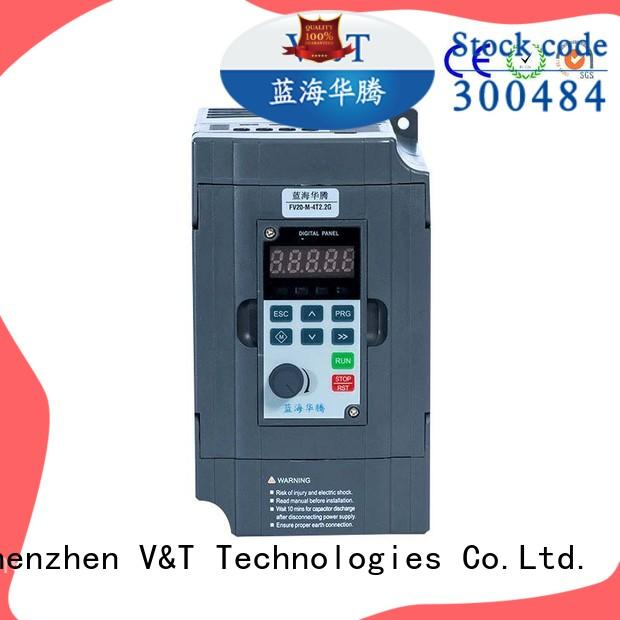 V&T Technologies compact size FV20 series inverter factory for low power