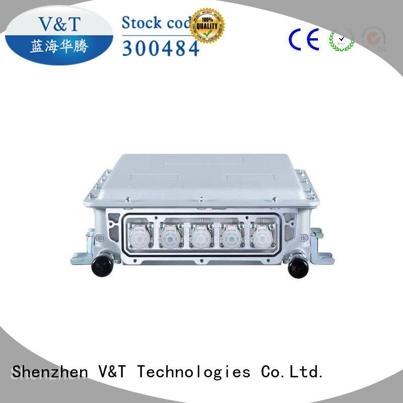 truck dc electric motor controller vehicle tank for special purpose V&T Technologies