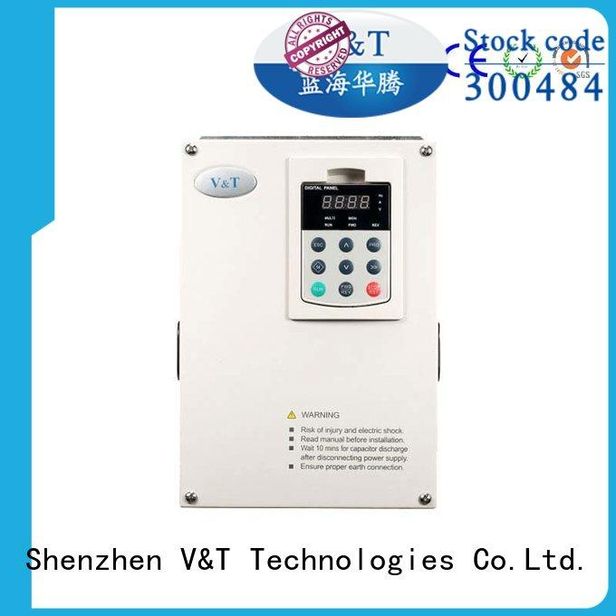 V&T Technologies frequency small variable frequency drive manufacturer for light−duty application