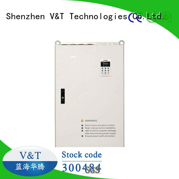 V&T Technologies big power 3 phase vfd supplier for machinery