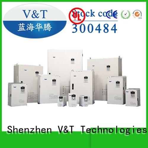 V&T Technologies v61 spindle servo drive manufacturer for power system