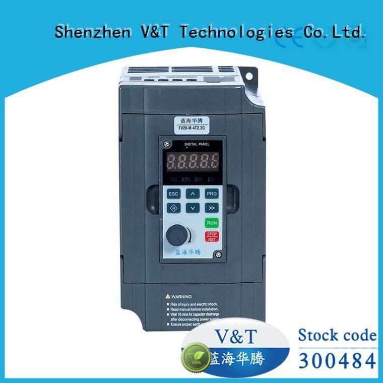 V&T Technologies FV20 series inverter solutions for industry