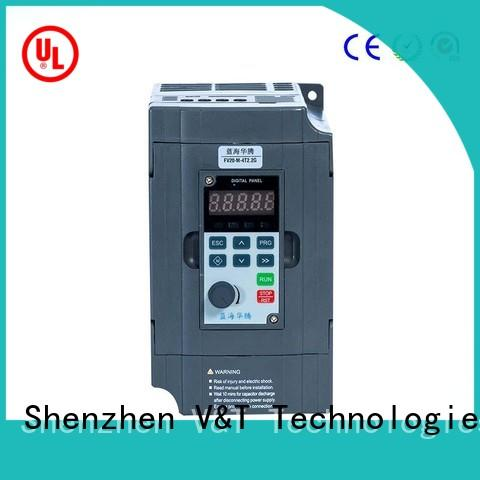 V&T Technologies fast shipping FV20 series inverter solutions for low power
