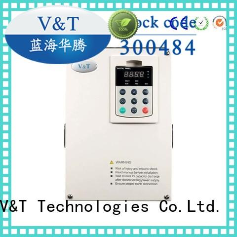 V&T Technologies Safe vsd variable speed drive for hoist for crane