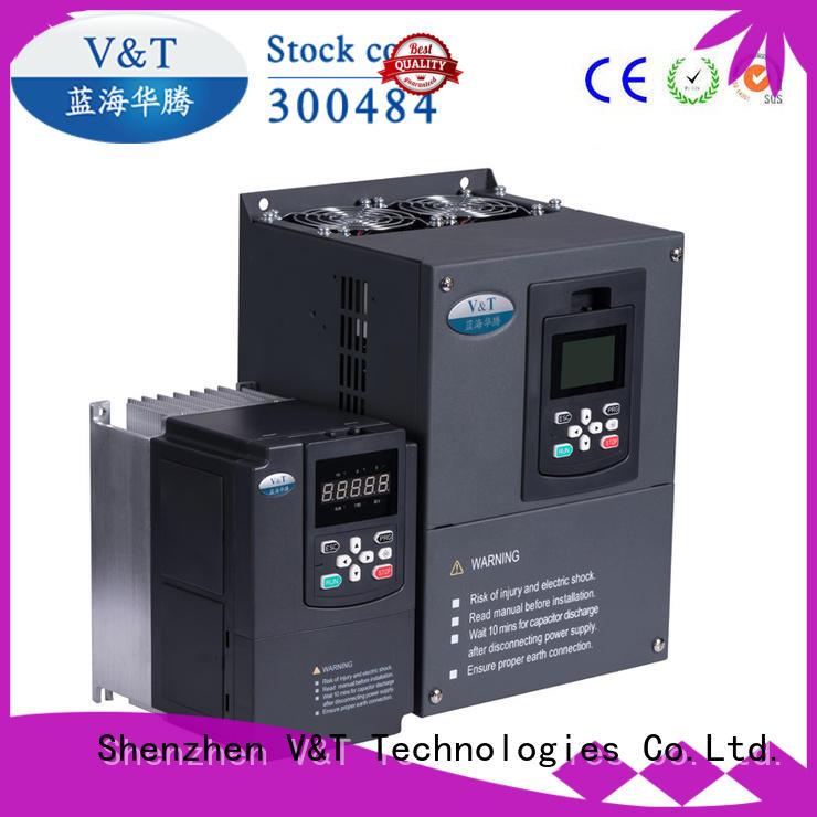 V&T Technologies OEM V9 Series general-purpose Inverter factory for heavy−duty application