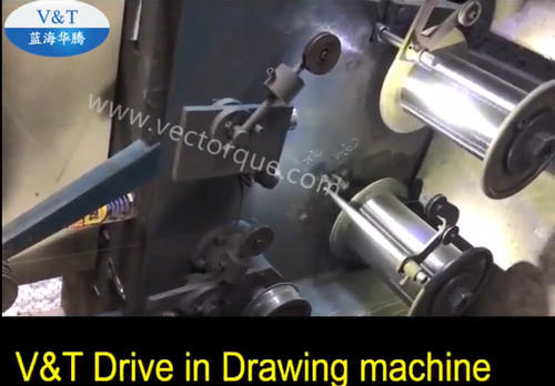 V&T Drive in Drawing machine