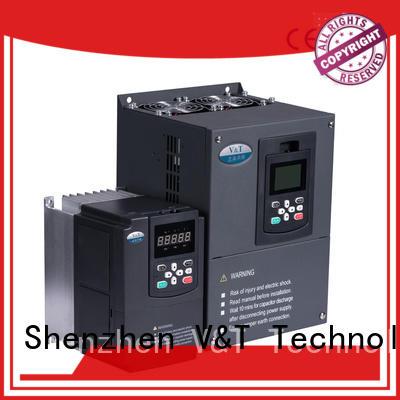V&T Technologies General Purpose Inverter manufacturer for heavy−duty application