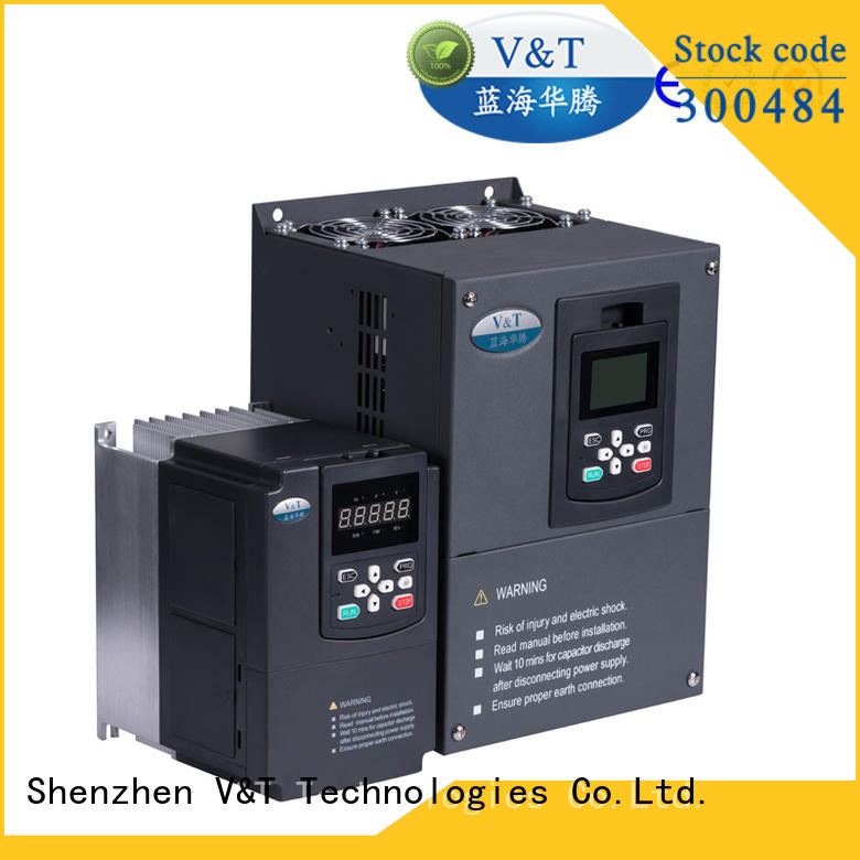 V&T Technologies vector control torque-controlled inverter manufacturer for heavy−duty application