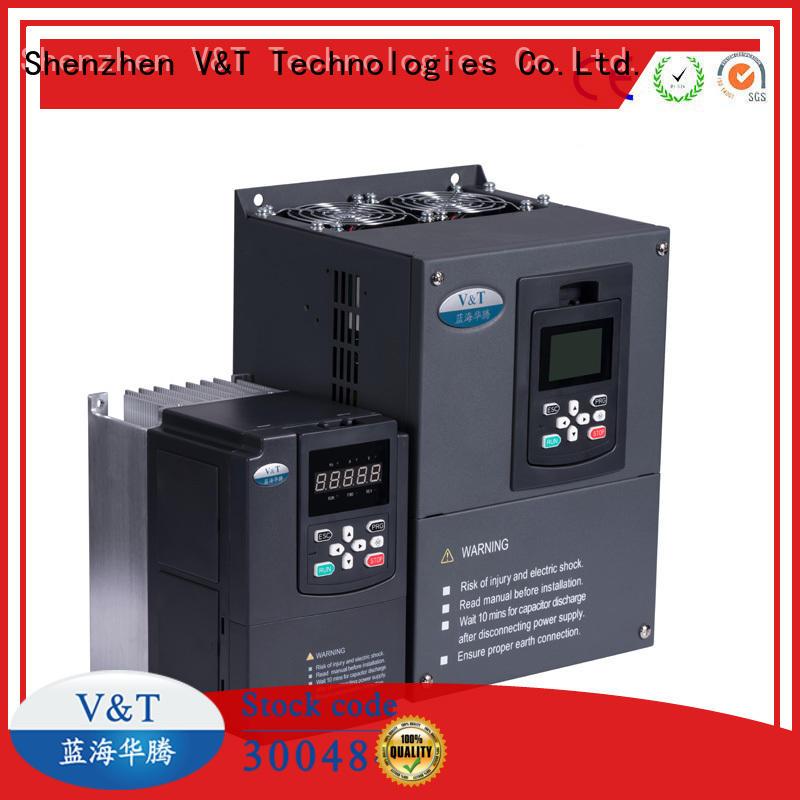 V&T Technologies V9 Series general-purpose Inverter factory for heavy−duty application