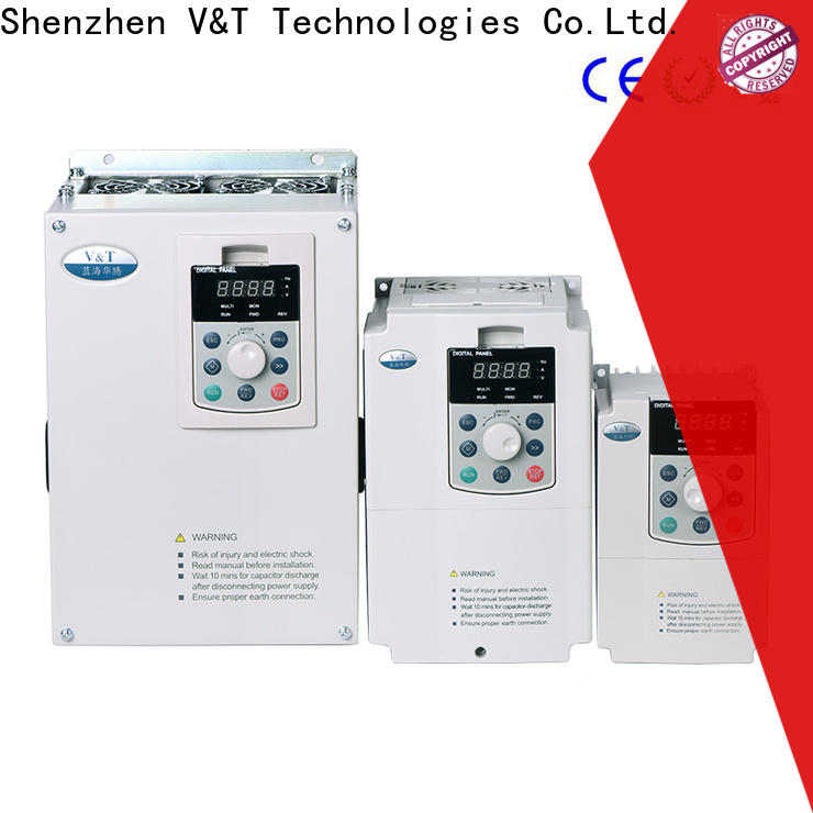 V&T Technologies vector control frequency inverter manufacturer