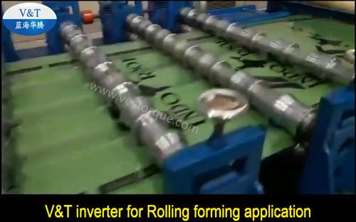 V&T inverter for Rolling forming application