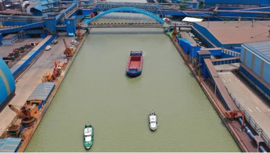 news-VT Technologies-VT helps first thousand-ton battery electric cargo-ship in the Yangtze River su